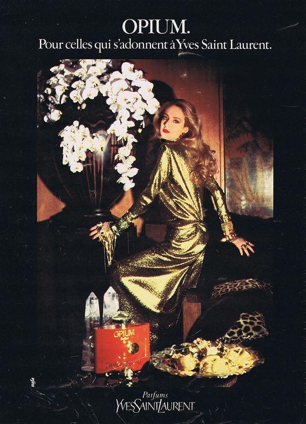 Saint Laurent Opium香水广告  ?#35745;?#26469;自品牌