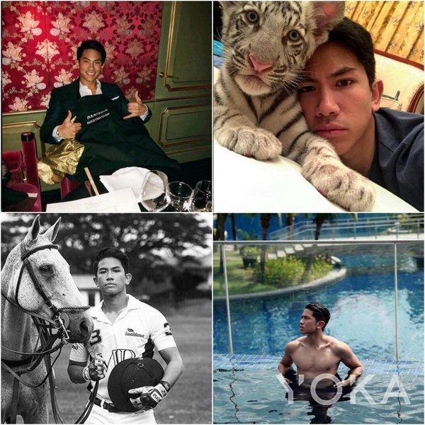 文莱马丁王子 (图片来源于hellomagazine)
