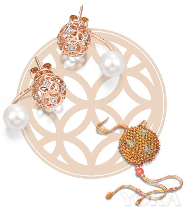 故宫宫廷文化 x ENZO香囊系列珠宝(图片来源于品牌)