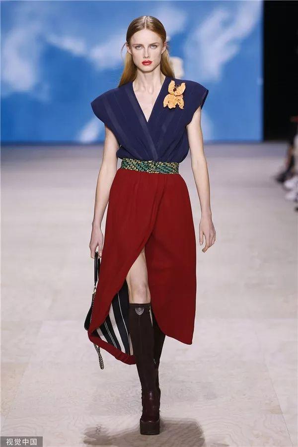 Louis Vuitton 2020春夏秀场(图片来源于视觉中国)
