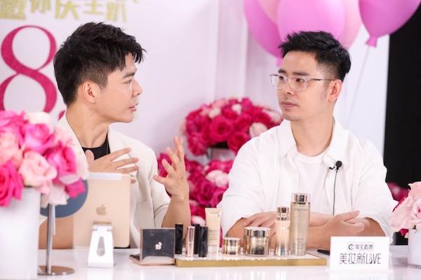 (右)中国顶级彩妆造型师 春楠  (按出场顺序排列)