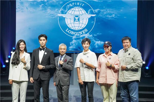 浪琴表副总裁李力先生携手当代先行者传递先锋精神(图片来源于品牌)