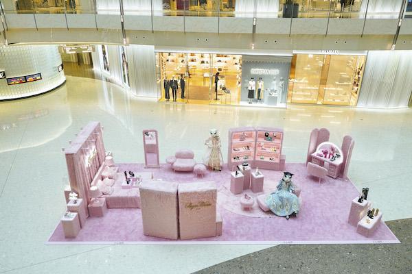 罗杰 · 维维亚「Pink Fluffy」限时概念展闪耀登场