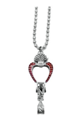 """Whensmokeclears® """"BREED"""" series ID HOLDER key necklace"""