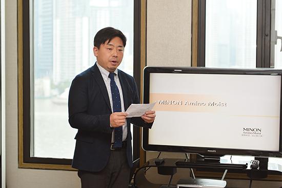 第一三共(中国)投资有限公司医药保健总部总经理山本贵史先生致辞