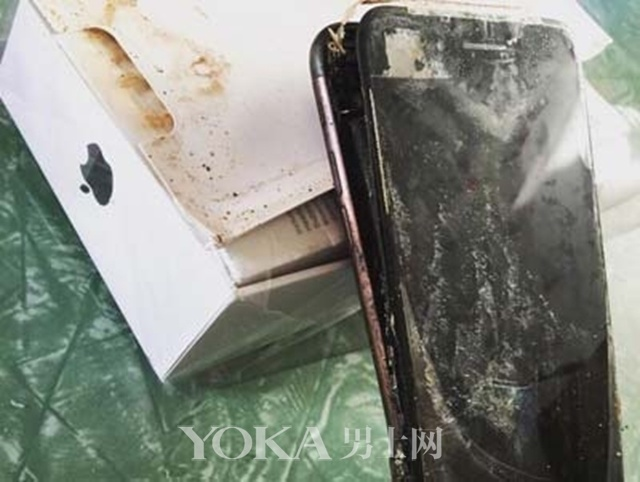 iPhone 7爆炸