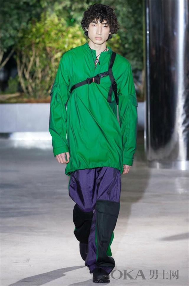 伦敦男装秀告诉你 不止草木绿这8个色系也流行