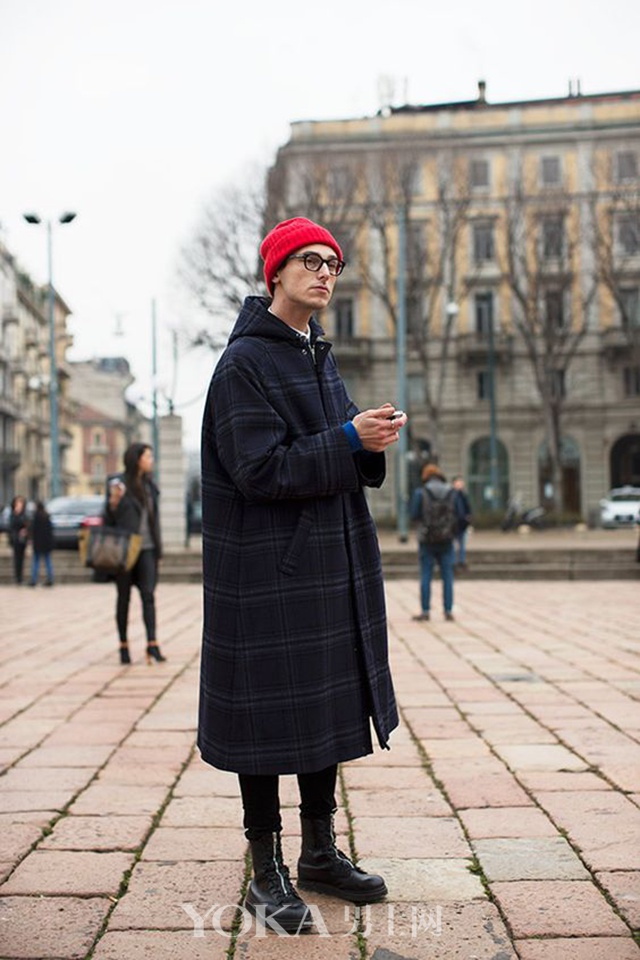 应景又开运的新年红 男人怎么穿搭才正点
